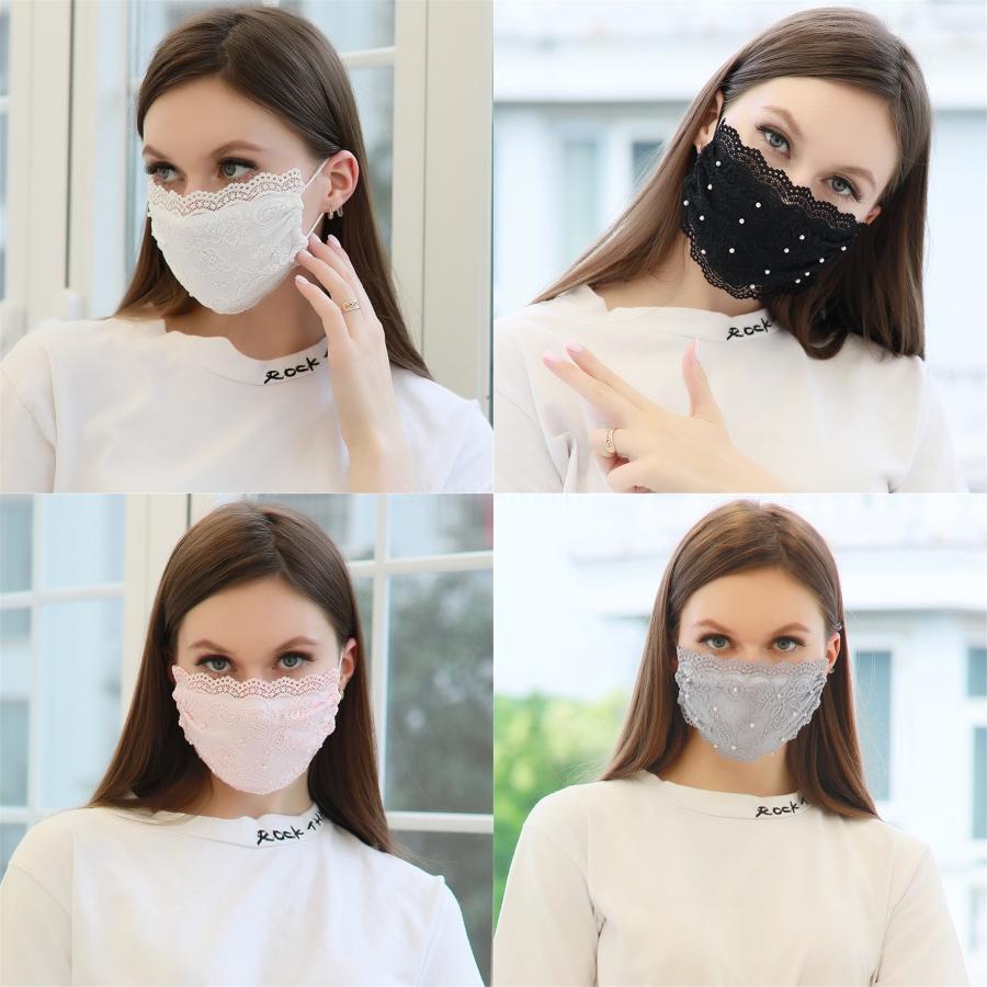 Anti Dust Fashion ClearWashable Face Mask Prective Mouth Mute Deaf Mascarilla Printing Flower Girl Boy#659
