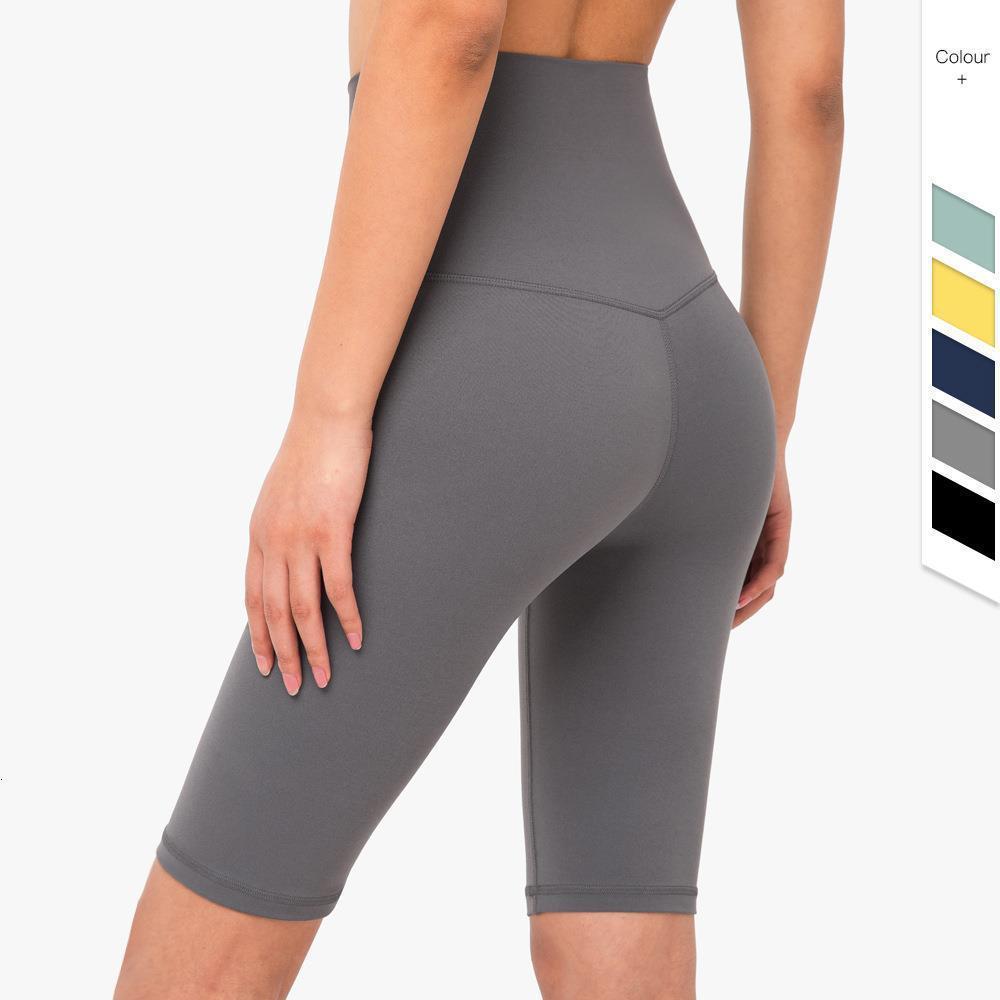 NCLAGEN Активного Atheleisure Butt Lift высокой талии шорты Женщина Нейлон тренировка Yogaings Gyms Короткие Capris 2020 Ню Sudadera Днища