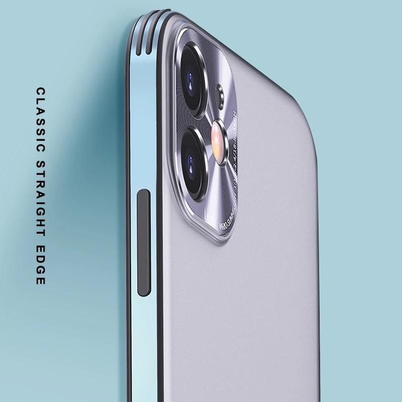 Lüks Mat Metal Kasa iPhone 11 12 Pro Mini Max Darbeye Kılıf iPhone XS X Max XR SE 2020 Arka Kamera Kapak