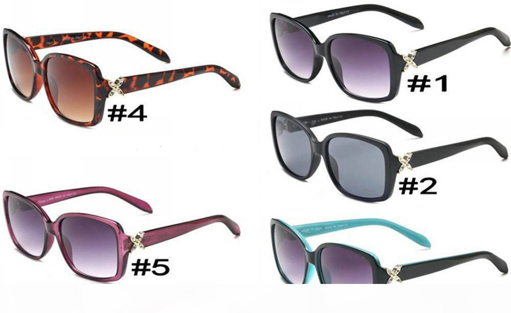 Sonnenbrillenglas für Damenmode-adumbral-Gläser UV400 Modellfarbe Hohe Qualität mit Box