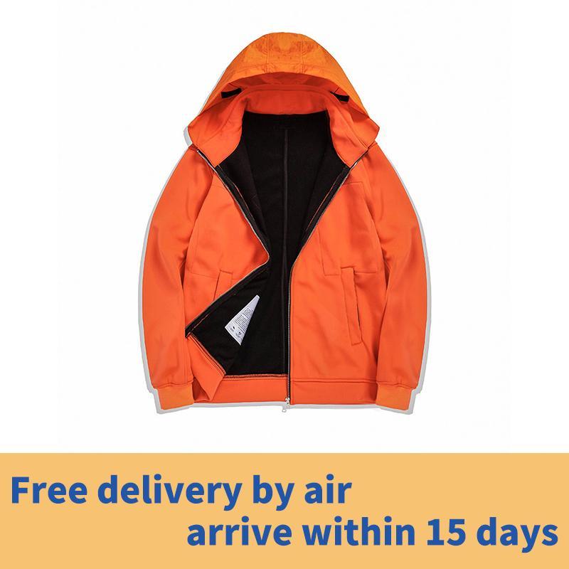 Pedra piratas 19fw jaqueta de cor sólida simples estilo, casaco quente em lã no outono e inverno Frete grátis