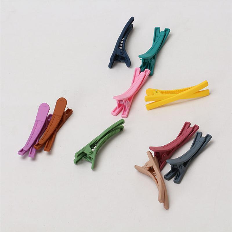 """2pcs / set mujeres / niñas """"X"""" tipo de clips de pelo lindas del color del caramelo de helados niños horquilla horquilla Barrettes Sombreros Accesorios para el cabello"""