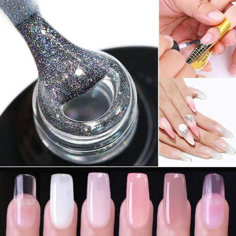 Rápido prego seco Extensão Art Pen Builder Arquivo Gel Polish Tampão Manicure Kit de Ferramentas