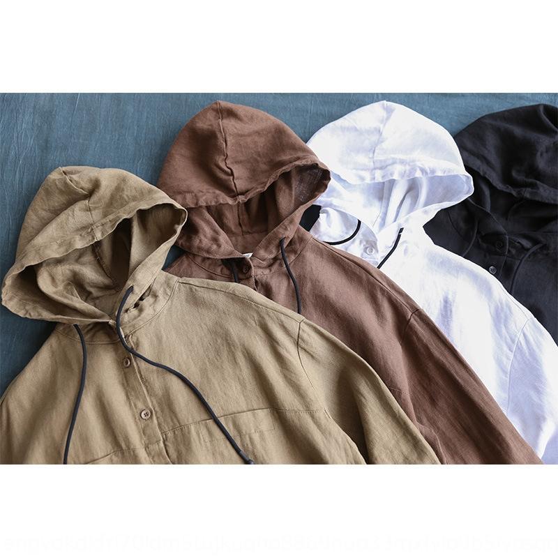 Nk3BI veste jackettemperament veste loisir artistique de style coréen pur lin couleur costume petit manchon mi-longueur minceur des femmes à long 2020