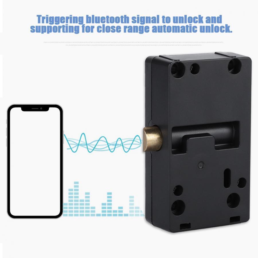 Bluetooth Smart Door Lock Cabinet Drawer Keyless Wireless Bluetooth Integrated Security Electronic Door Lock