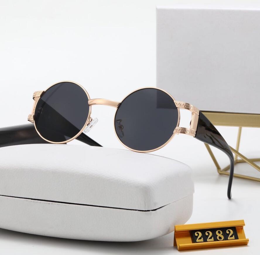 Moda Güneş Gözlüğü Iyi Kaliteli Güneş Erkek Kadın Polarize Lensler Deri Kılıf Bez Kutu Aksesuarları,
