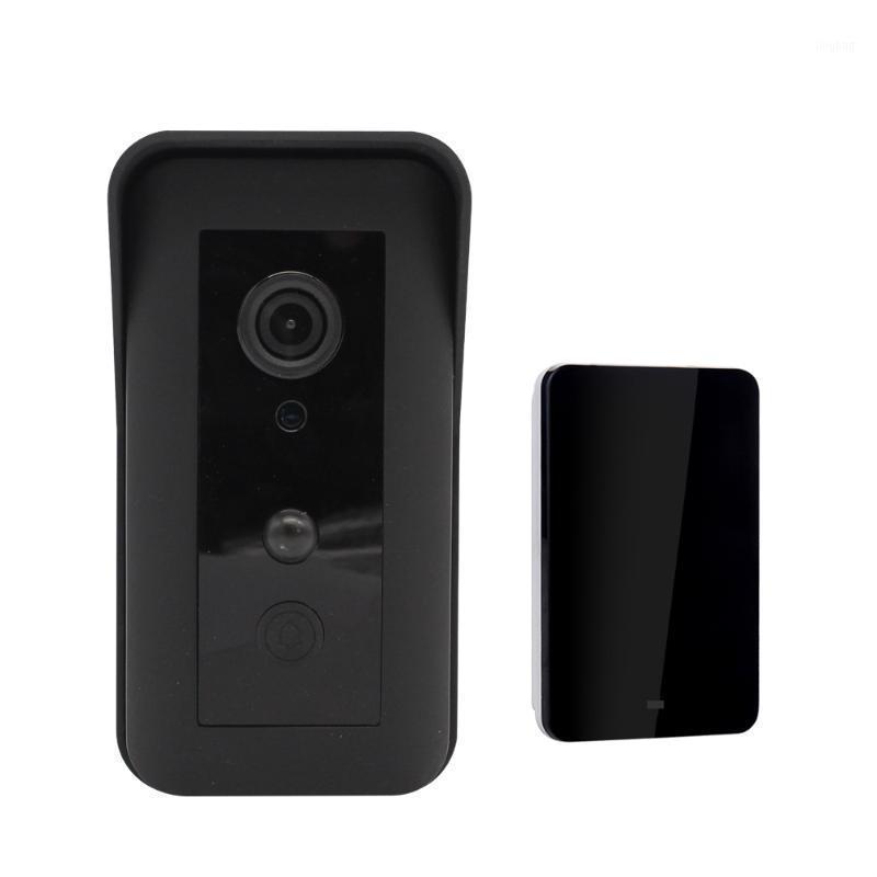 Doorbells 720p 180 degrés Batterie de construction Batterie sans fil Intercom IP Doorbell Porte vidéo Téléphone1