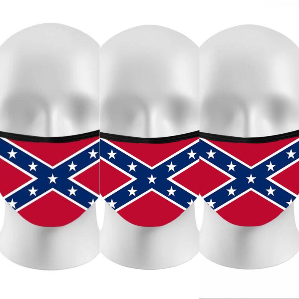 Máscara da bandeira de Mississippi ao ar livre Verão Anti poeira respirável face Sports Máscara Bandeira Eleição Trump 3D Impresso cobrir a boca Mapaty17RG