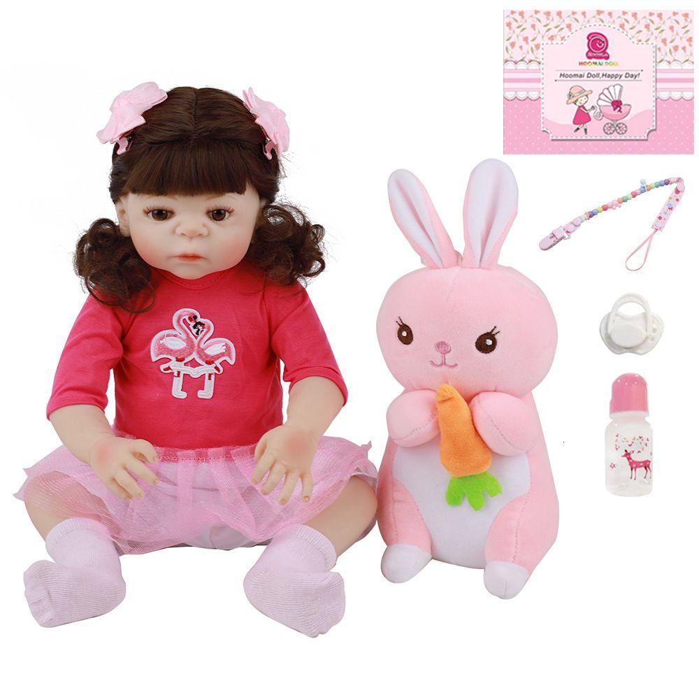 """Simulazione Baby Silicone Reborn Doll 18 """"48 cm PP1C"""