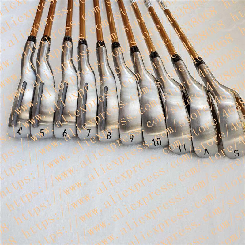 2020 New HONMA BERES S-07 4-Sterne-Gold-Golf Club Set Irons 10 Stück Graphit R / S mit Kapuze freies Verschiffen