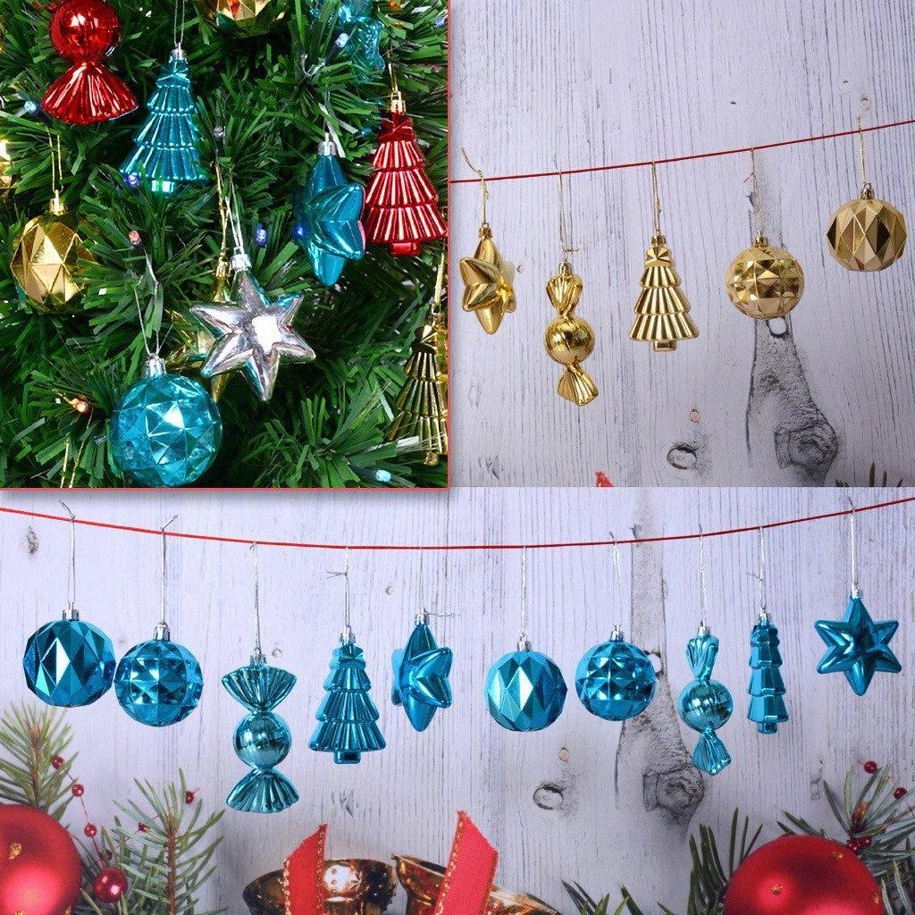 Weihnachtsbaum-hängende Verzierung Anhänger Party Supplies Baum hängend Weihnachten 2020 Dekoration Party-Geschenke-Shop Weihnachtsschmuck S N7S8 #
