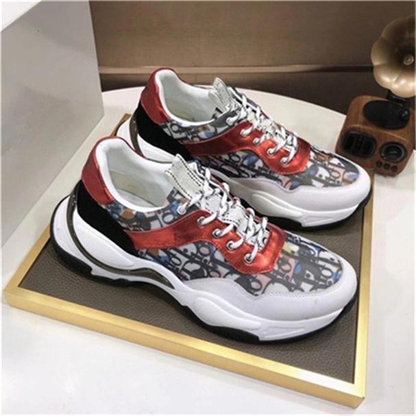 Mejor Cadena de Calidad de reacción para hombre Nueva tendencia de la moda los diseñadores de las zapatillas de deporte zapatos para hombre Tamaño 38-45 kxx02