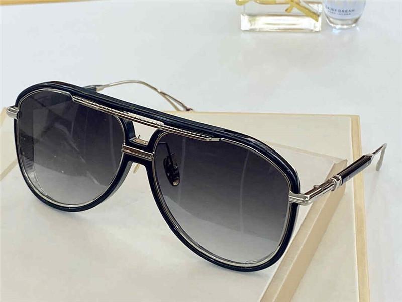 EPLX.2 Nuovi occhiali UV UV UV METALLO IN FULL STYLE Occhiali da sole Protezione Obiettivo moda OVAL Frame frame Piastra 400 Occhiali da sole Outdoor Retro PREMI RLXN