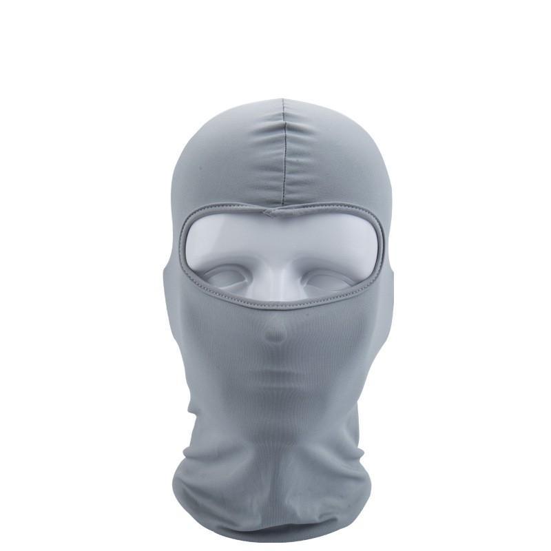 Máscara de motocicleta Força elástica Sunscreen Sunscreen Poeira FacePiece FacePife Ventilação Equitação Acessórios Venda Quente -2 6WL UU