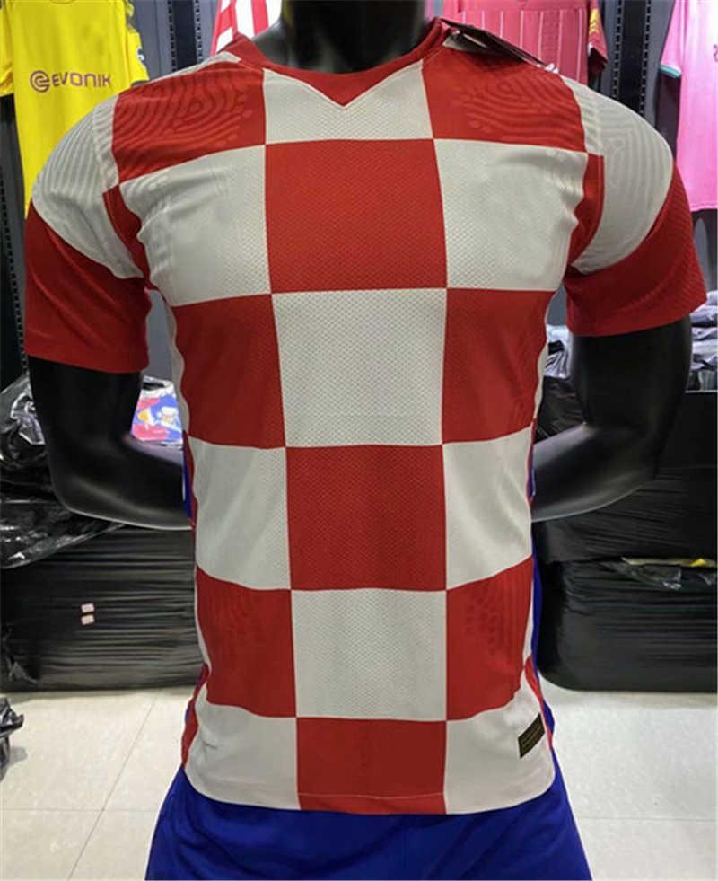 Spielerversion Brozovic Fussball Jersey Nationalmannschaft Colak Kovacic Brekalo Mandzukic Modric Rakitic Perisic 2020 2021 Fußballspieler Hemd