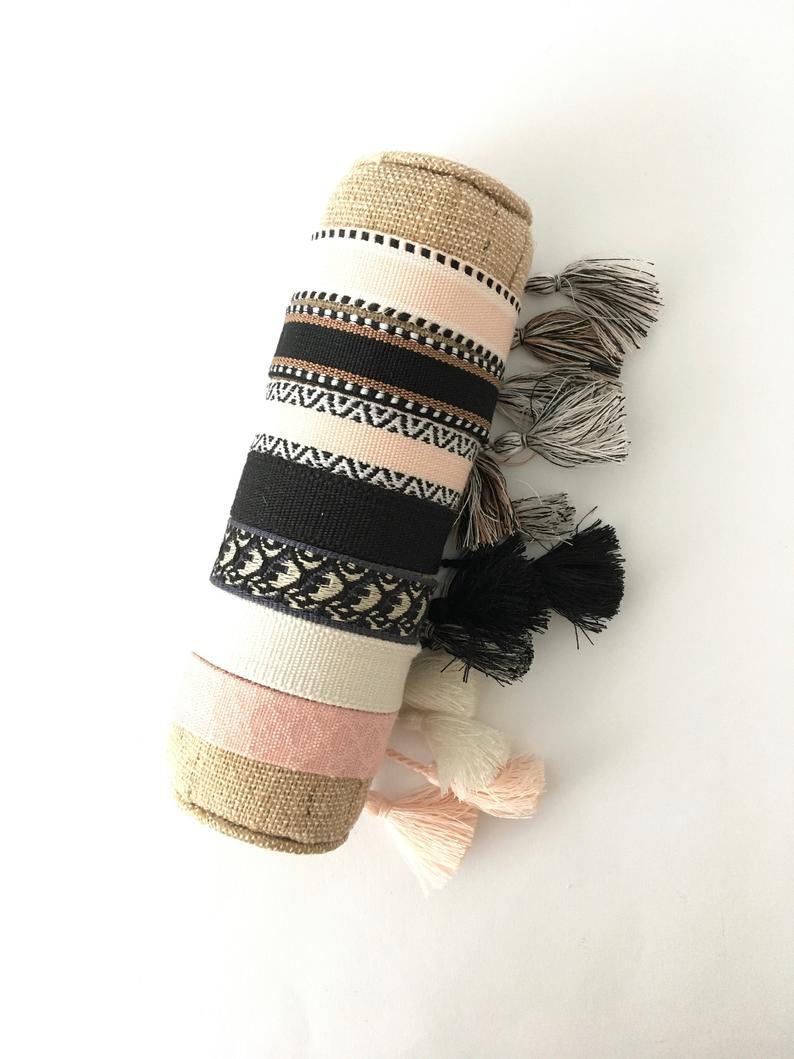 Горячие роскошные ювелирные изделия браслет для женщин хлопчатобумажная ткань буква подпись вышивка браслет из тканых браслет тазон на шнуровке укладки