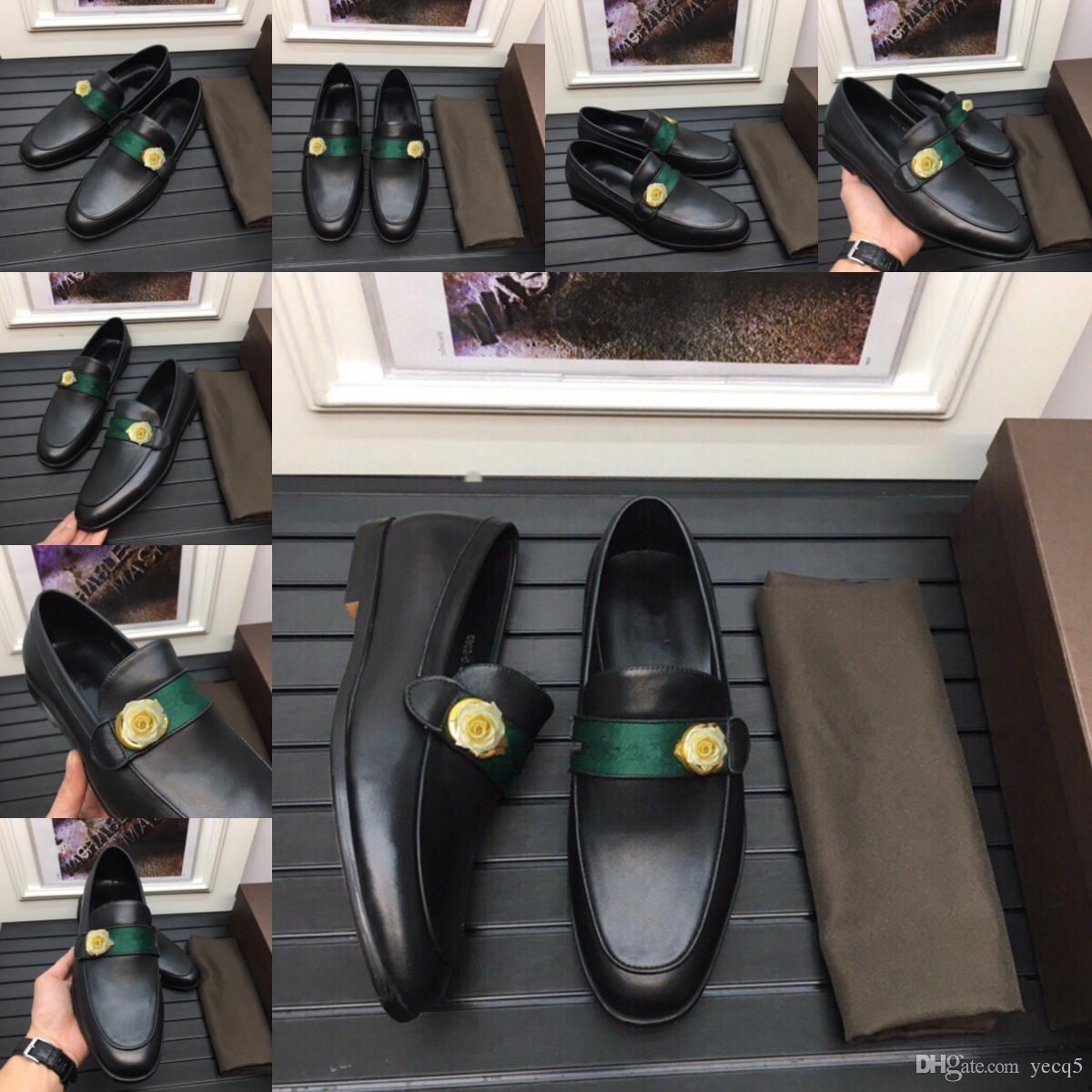 Le nuove scarpe da uomo in pelle appuntita in pelle d'affari vestito di lusso scarpe da uomo specchio vernice in pelle scarpe formali lace-up classico nero nero taglia 38-45