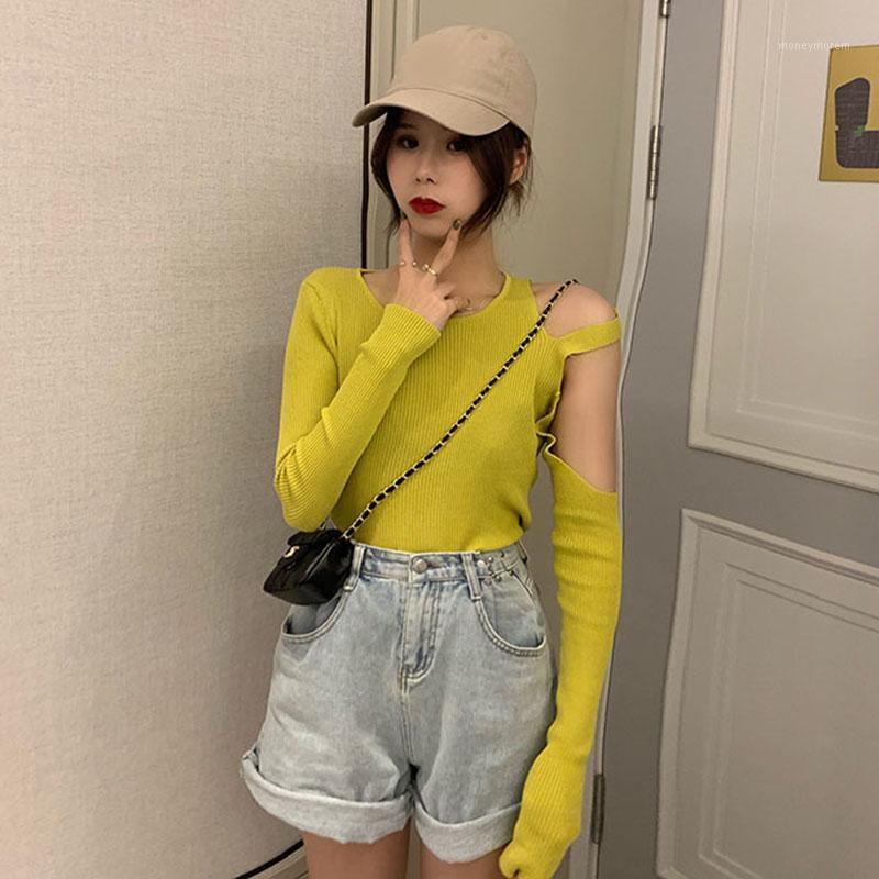 Suéteres de mujer al por mayor 2021 Venta de verano Moda de mujer Casual Cálido suéter BW60541