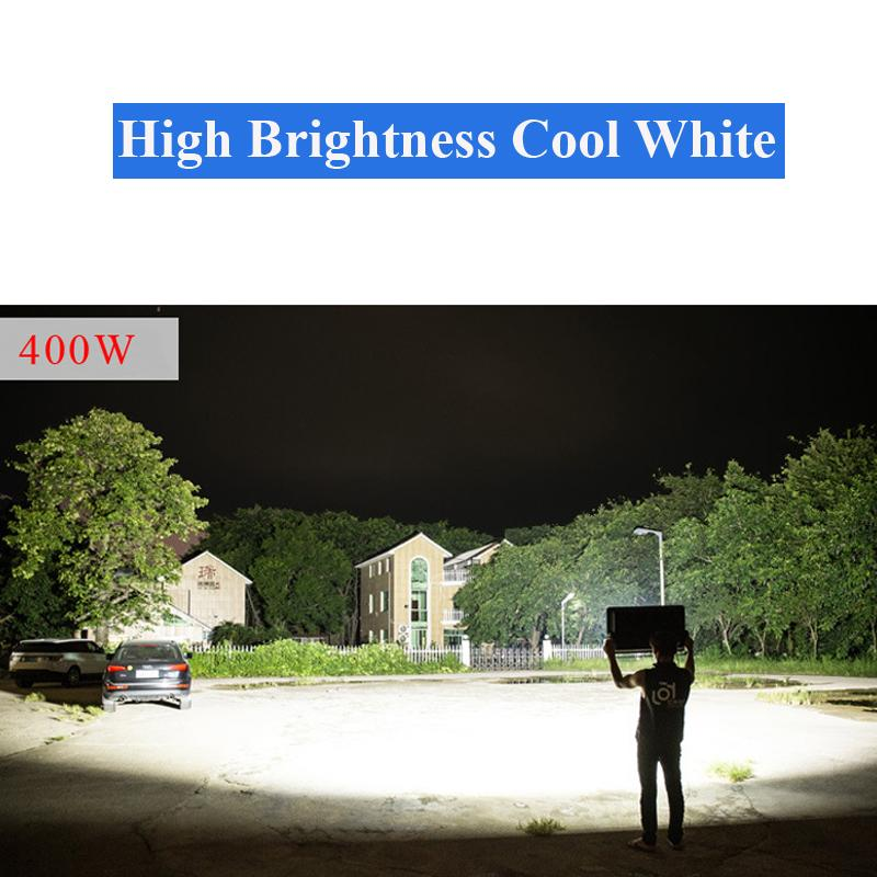 LED FLOOD Lights LAMPS 1000W 6500LM Motion Sensor Detector PROJECTOR Outdoor Wall