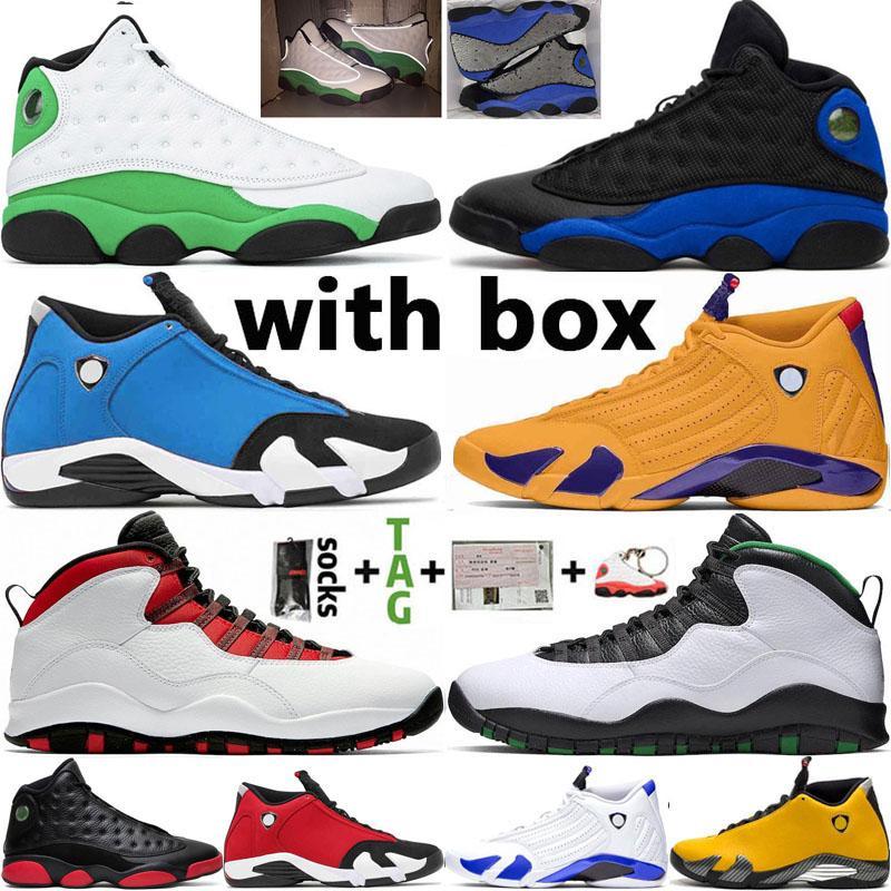 2021 jumpman رجل أحذية كرة السلة الجامعة الذهب 14 14 ثانية رياضة حمراء hyper الملكي 13 13 ثانية محظوظ الأخضر 10 10s النساء المدربين الرياضة أحذية رياضية