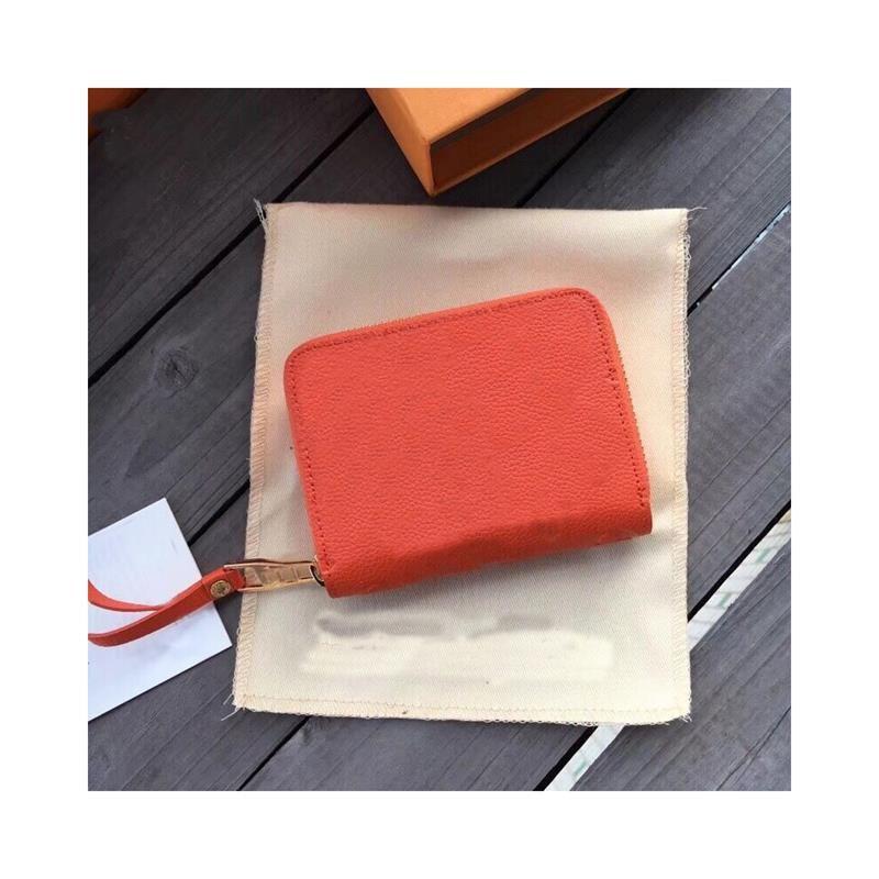 Hot Women Designers Wallet Venta de lujo EMBRUCK Wallet Holders Purse Mens Wallets Ladies Bolso corto 3A Diseñadores de tarjetas Cuero Ver Uujlg