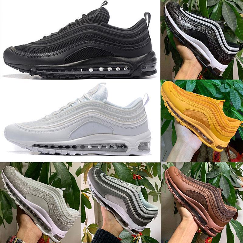 97 koşu ayakkabıları 97 Siyah Bullet ayakkabıları Açık Chaussure çalışan Yürüyüş spor ayakkabıları mens Koşu 2020 Sean Wotherspoon 97S kadınlar Spor Ayakkabıları