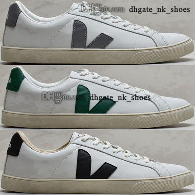 Zapatillas para hombres Esplar 45 35 Luxury Veja Sneaker Mujeres 5 EUR Casual Plataforma para hombre Sneakers 11 Tamaño EE. UU. Entrenadores blancos Chicas Damas Deportes
