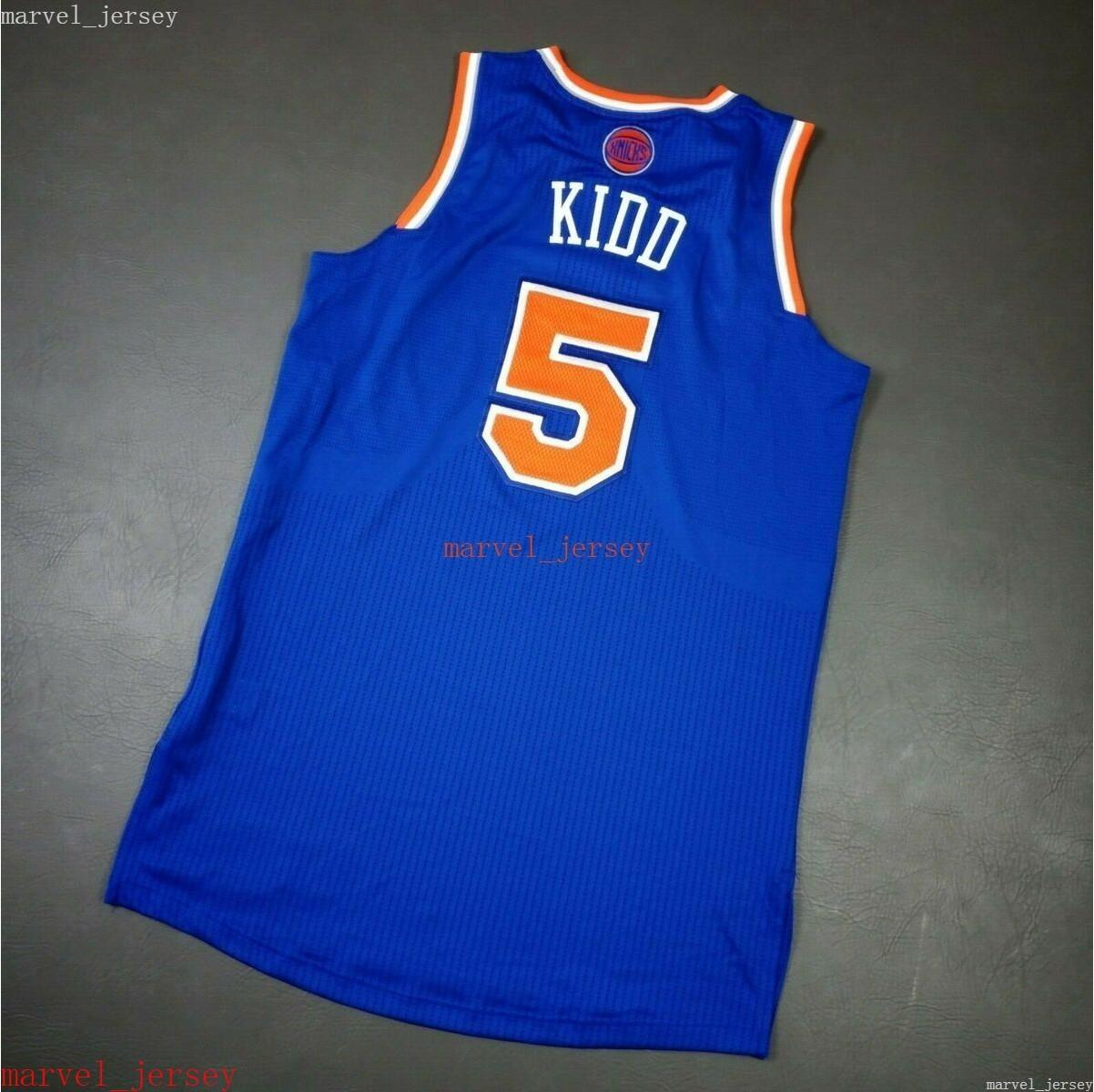 Jason Kidd 2012 sur mesure Jason Kidd 2012 Jersey XS-6XL Dettage des maillots de basket-ball Jerseys bon marché Femmes jeunesse