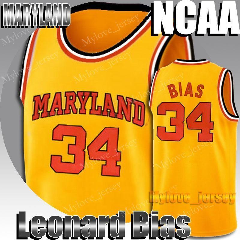 34 NCAA Leonard Maryland Università Bias Reggie Miller 31 Larry 33 Uccello 23 Michael Jersey Dwyane Wade 3 32 Fredette Jersey 2-19