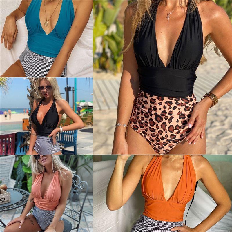 GRF anillo traje de baño verano dobladillo sexy traje de baño acolchado superposición floral volante push-up bikini impresión fluya alta calidad o mujeres tiras de tankini