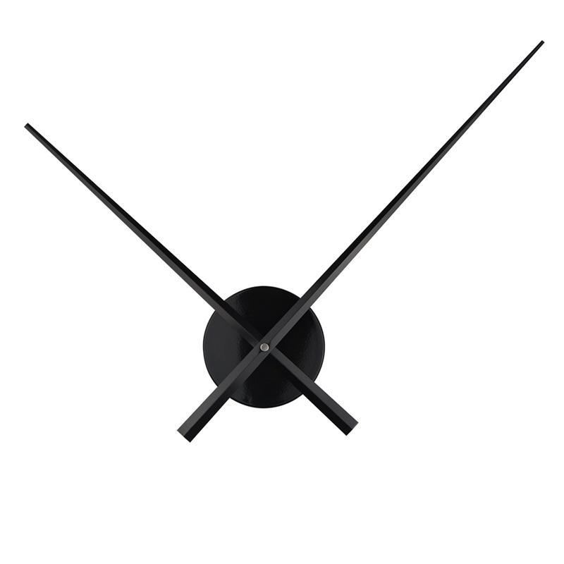 Новые краткими DIY большие часы иглы кварцевый механизм Большой размер часовые руки аксессуары для 3D настенные часы современный домашний декор Y200110