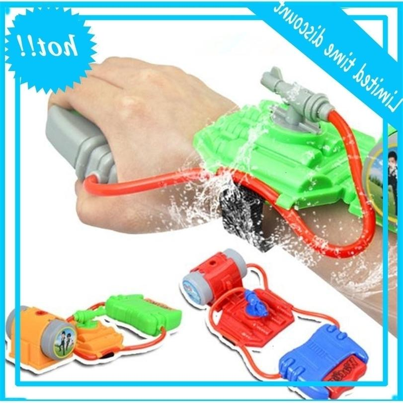 children's wrist Hot sale high quality plastic water gun cheap children summer beach toys