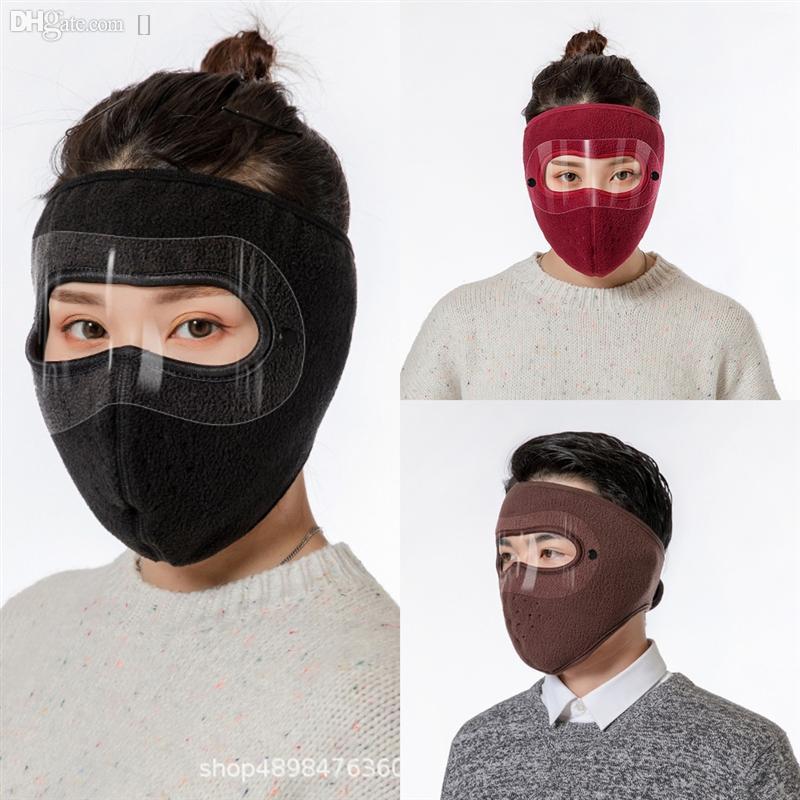 Uumdw Protection Concepteur Activé Cyclisme Face Masque Sport Carbone de luxe avec filtre .Anti-pollution Masque Sport en plein air Formation