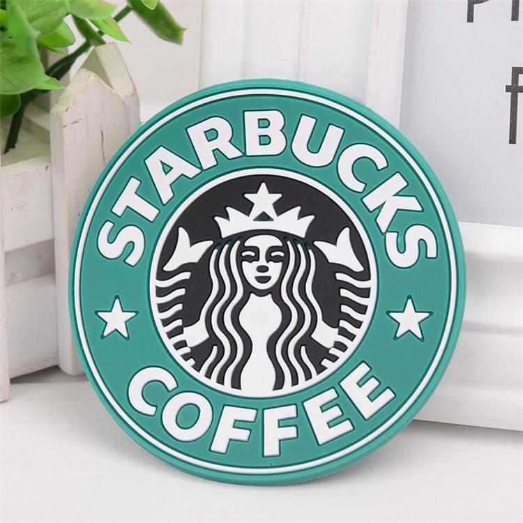 2020 силиконовые подстановки Cup Thermo Thermo Thermo Thermo Cushion Holder Starbucks Морская горничная кофе подстанчики чашки коврик