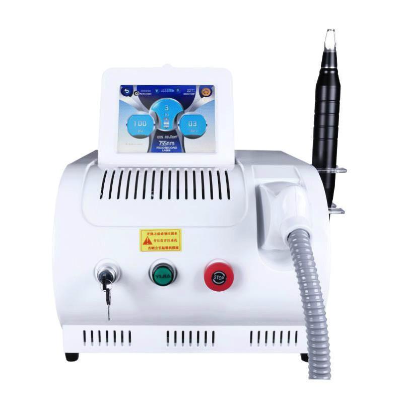 2020 новый Q коммутируемый ND YAG Paposion Laser для черной куклы татуировки удаление поры для удаления лица подтяжки пигмента удаления машины # 001