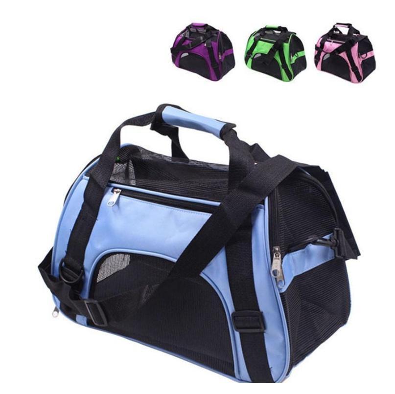 قابلة للطي ناقلات الحيوانات الأليفة حقيبة المحمولة napsack الناعمة الكلب النقل الكلب أكياس الأزياء الكلاب sqcrlq dh_seller2010