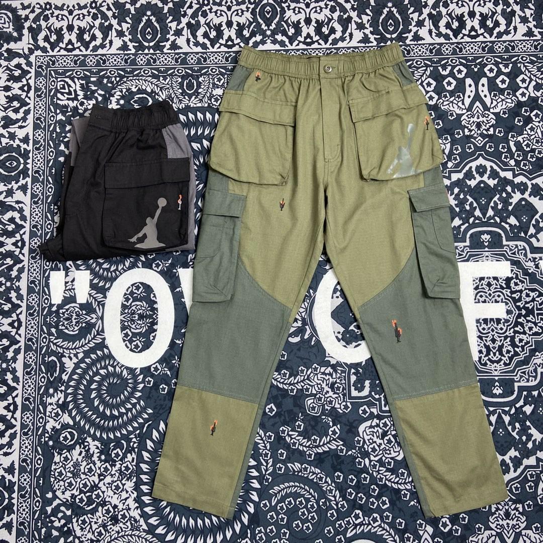 TRAVIS SCOTT CO фирменные TS 19FW Multi Pocket Функциональные комбинезоны Длинные спортивные штаны