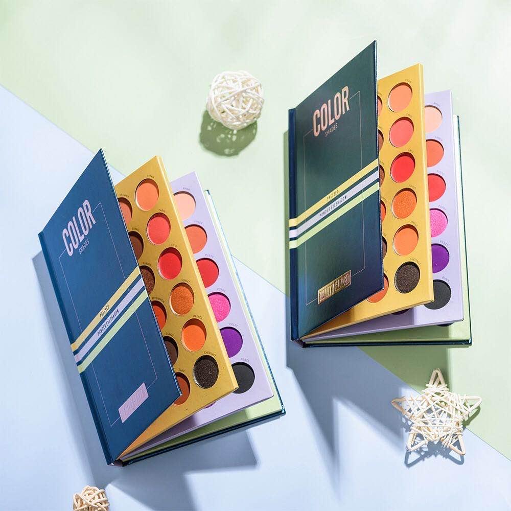 2020 yeni güzellik sırlı makyaj 72 renk paleti tozu eyeshaodw pigmentli parıltı matları parıltı NÜ'dürler far ücretsiz gönderim