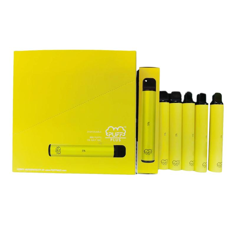A ++ Quality Buff Bar Plus 800 Puffs Descartáveis Vape Pen 550mAh Bateria 3.2ml PODs Cartuchos Pré-preenchidos E Cigs Vaporizadores Device Suff Plus