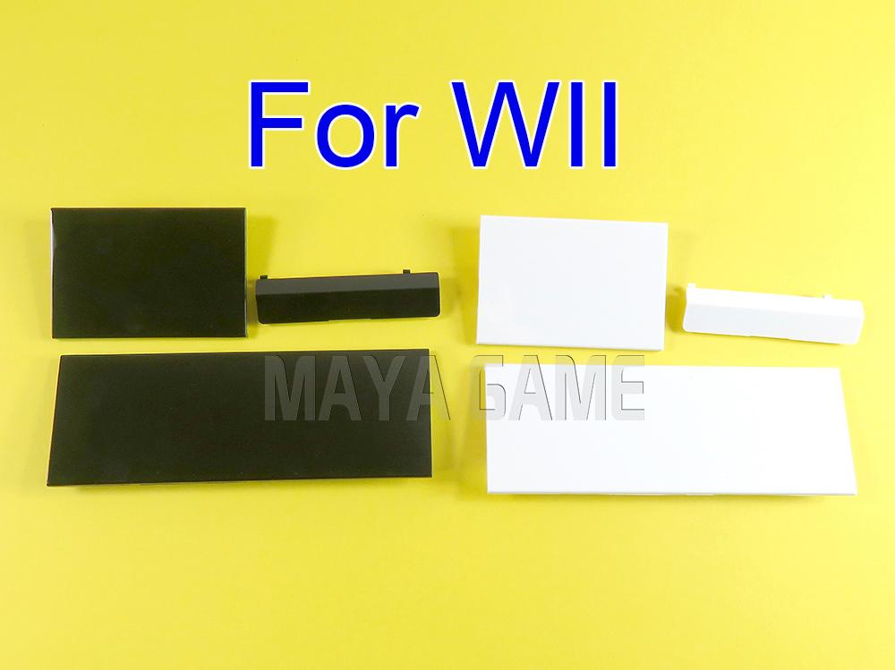 Для Wii карта памяти дверной прорезь крышки контроллера защитная оболочка крышки замена для игры Wii
