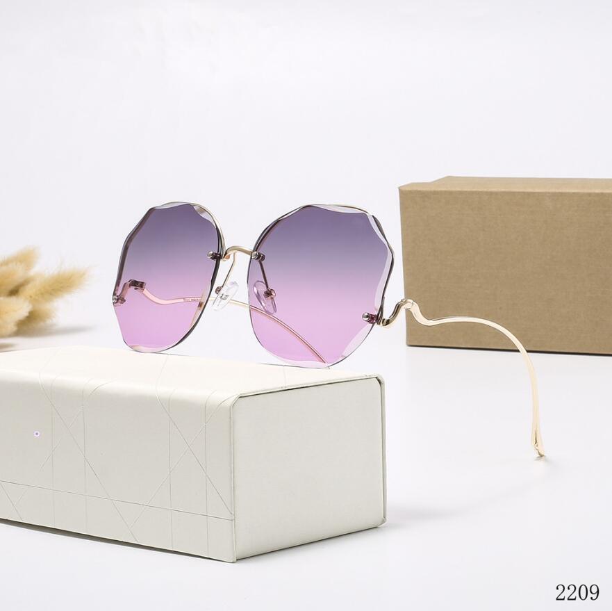 Metal Luxury-High Womens Green Sun Glasses Tyjrsy Quality Mens Marca Gafas Brown Gafas de sol Diseñador Dorado Lentes de vidrio Clásico Piloto Aula