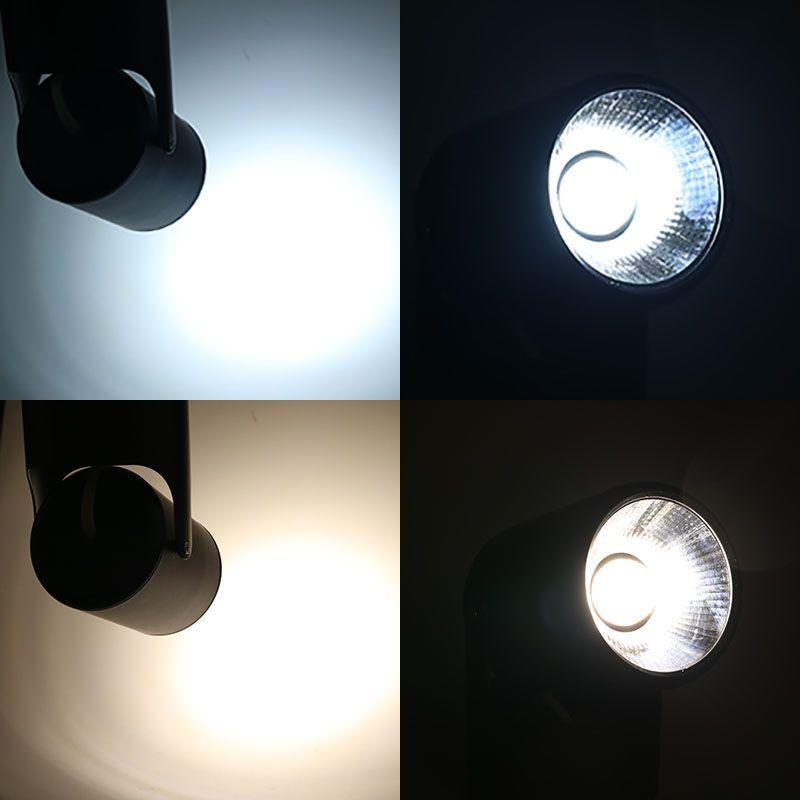 La superficie ha montato a soffitto LED Spot Light Lamp AC 110V 220V punto luminoso luci calde Ufficio Bianco Camera da letto Soggiorno Commerciale illuminazione
