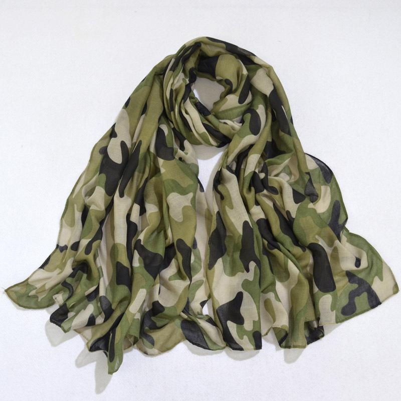 Nouveau design Foulard de camouflage Foulard Cercle De Mode Écharpe Grand Taille longue Échantillons Femmes autour des écharpes