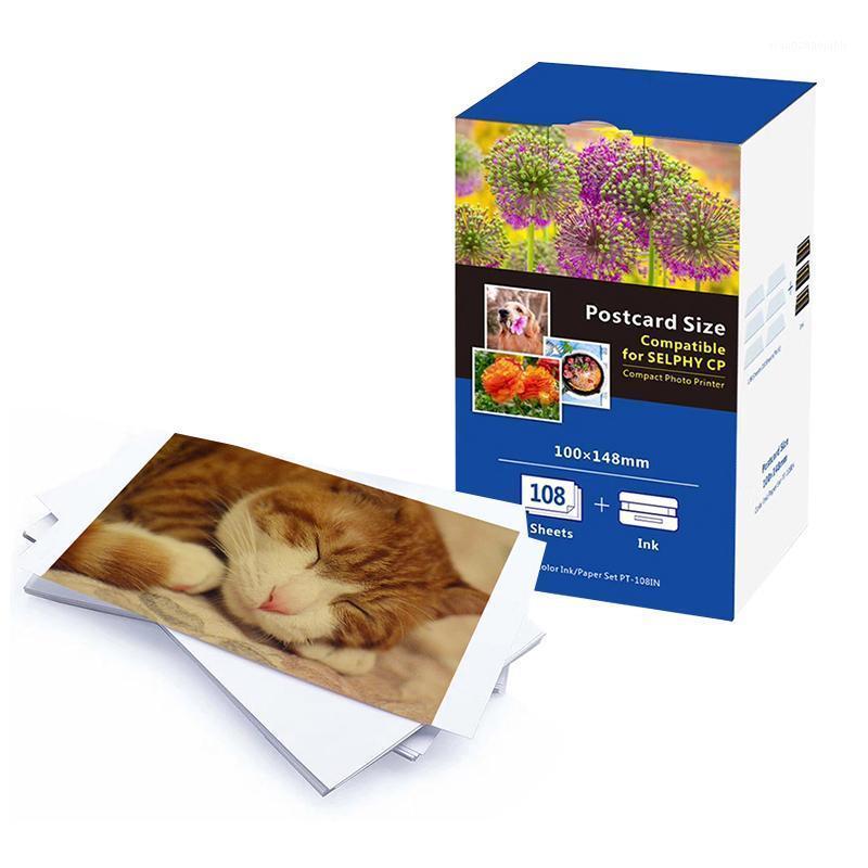 Многократные стили 6-дюймовые фотобумаги для Canon SELPHY CP серии CP800 CP810 CP820 CP900 CP910 CP1200 CP1300 CP1000 Photo Printern1