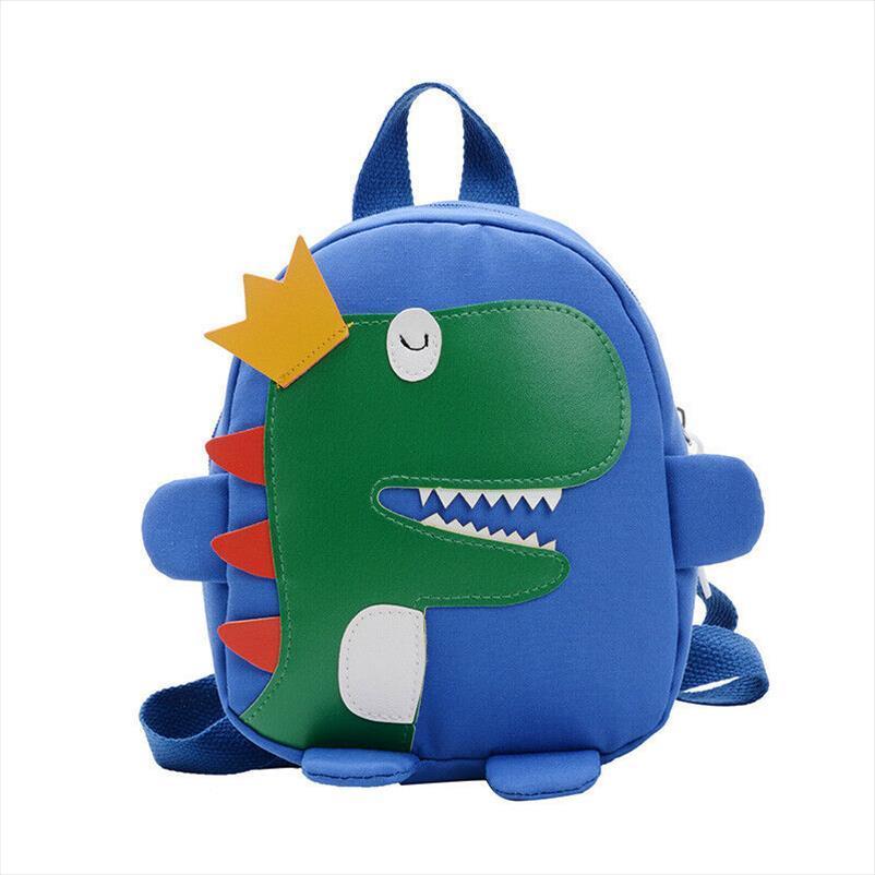 Kid New Cute Bag Girl School 3D Mini Dinosaur Baby Backpack Toddler Cartoon School Boy Kindergarten Bag Dekmm