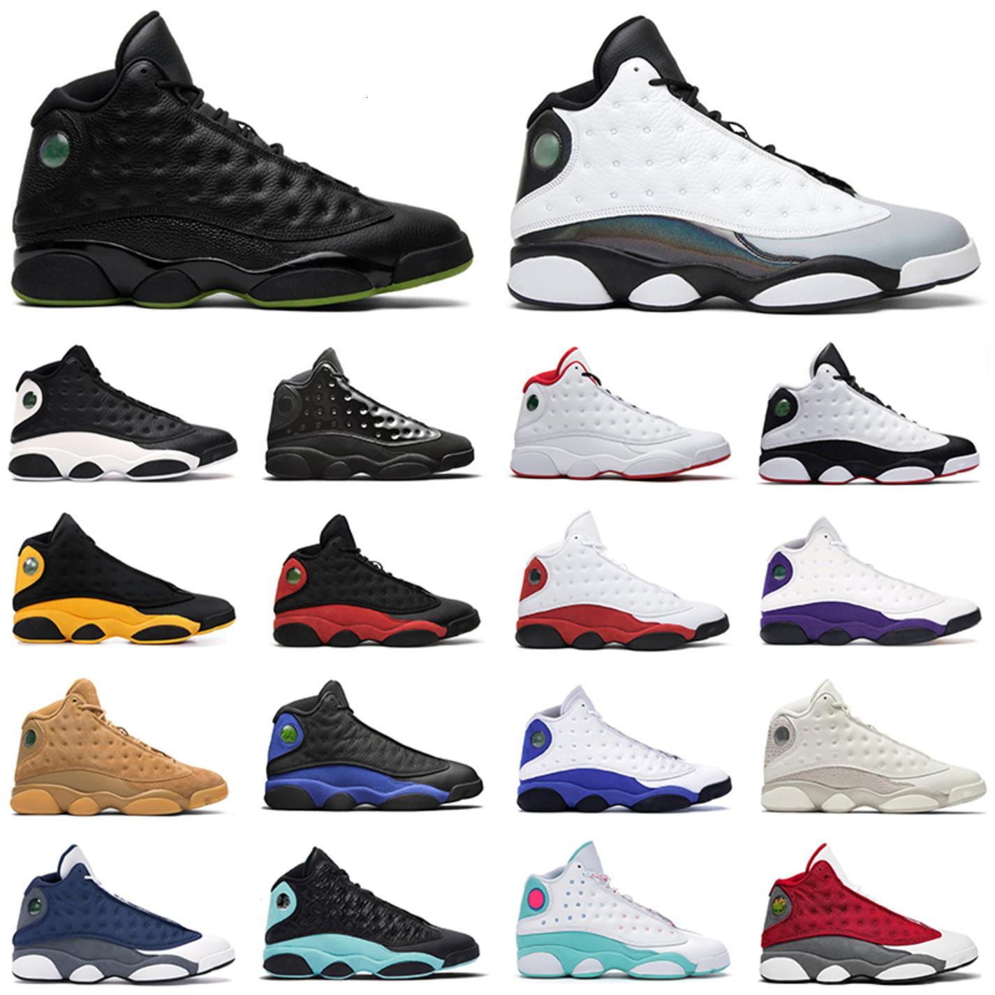 Новые 13s Мужские Баскетбольные Обувь Z Красный Флинт Реверс У него есть игра Lucky Power Зеленый Черный Кот Чикаго Брейд Женщины Тренеры Спортивные кроссовки