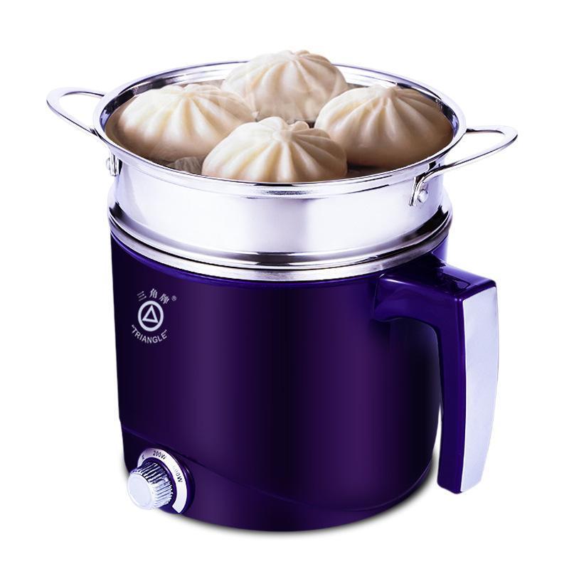frigideira elétrica mini cozinhar potenciômetro macarrão fogão hotpot mini fogão elétrico com aparelhos de cozinha pequenos