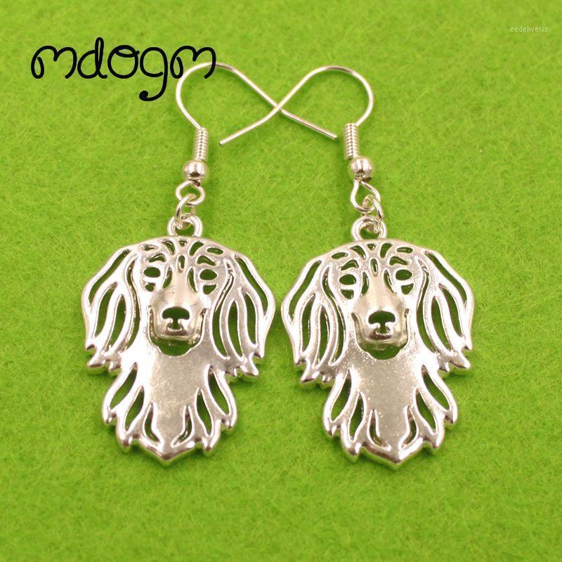 2020 bonitinho dachshund cão animal pingente gota brincos dourado prata-placa engraçado verão metal para mulheres meninas mulher senhoras E0451