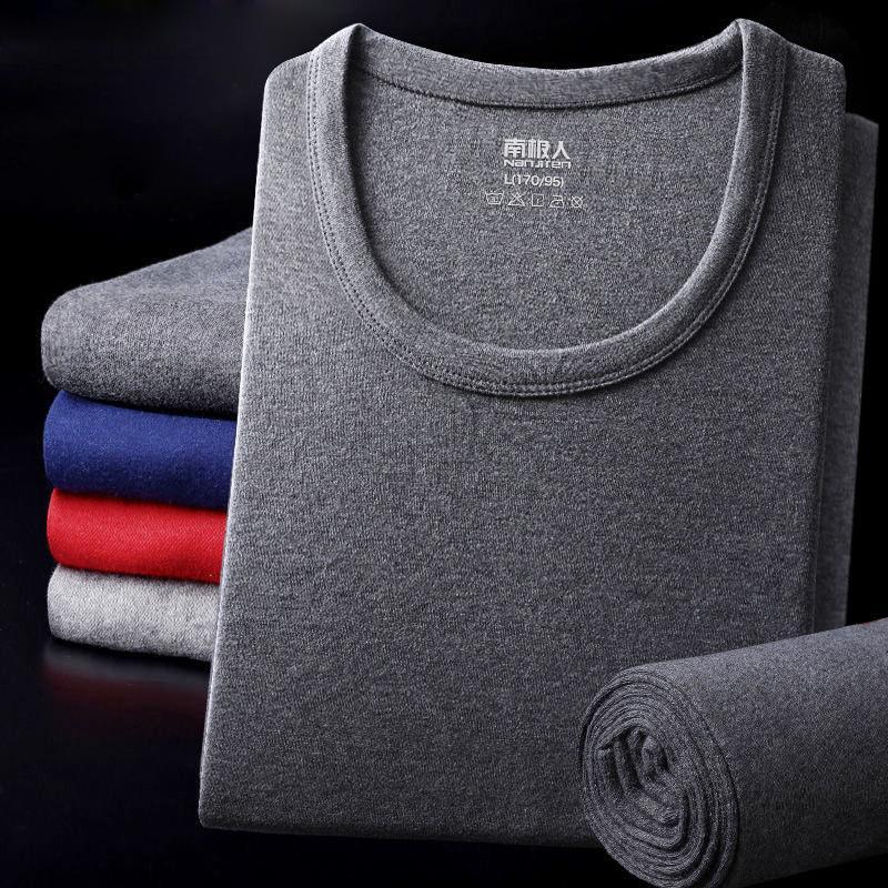 2020 Mode Coton Sous-vêtements thermiques en coton pour hommes Set d'hiver Sous-vêtements pour hommes épais de sous-vêtements thermiques pour hommes Long Johns L-3XL Q1222