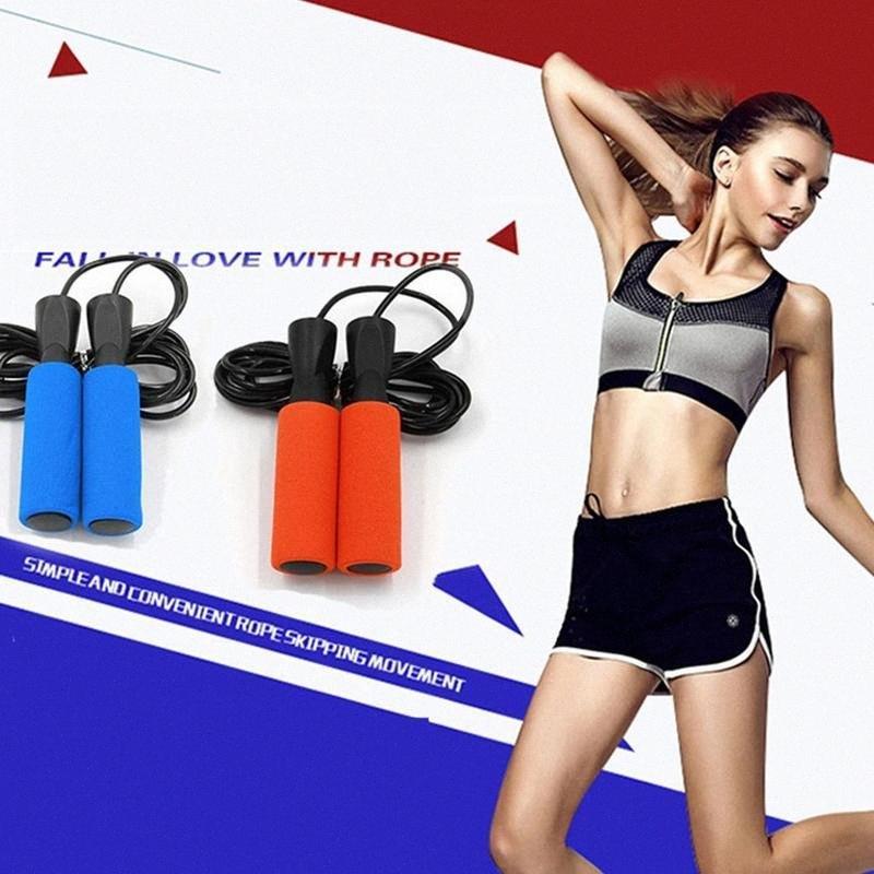 1 Pcs éponge Poignée Corde à sauter spécial Roulement Corde à sauter Sport Fitness Aérobie Équipement extérieur nlBV #